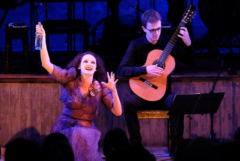 Soprano Jennifer France and guitarist Tom McKinney perform Mad Maudlin's Search for Her Tom O'Bedlam at Proms.jpg
