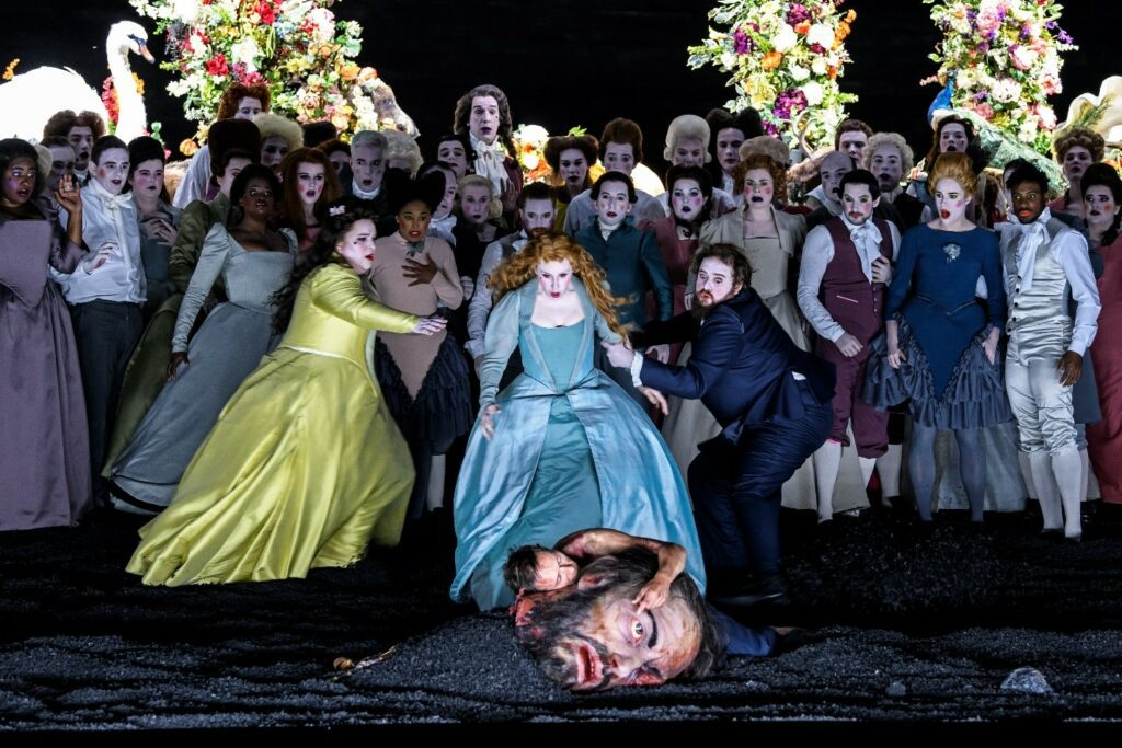 A scene from Glyndebourne Festival's Saul. Photo: Bill Cooper