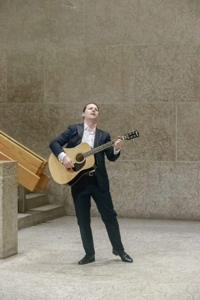 Jason Klippenstein (Don Giovanni) in Manitoba Underground Opera's Don Giovanni. Photo: Paul McKeen