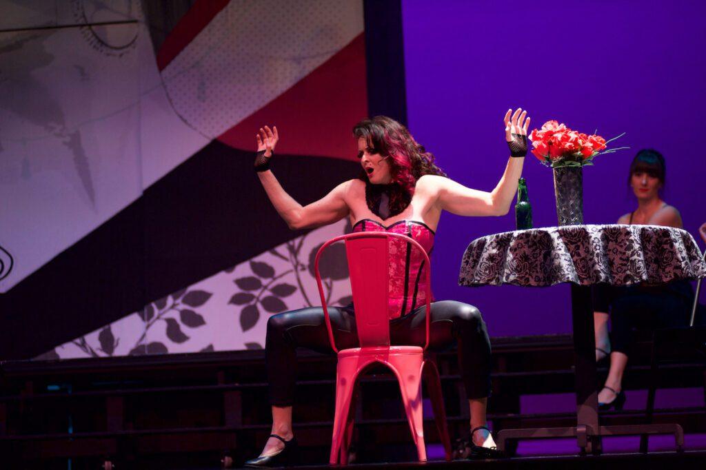 Ernesto Ramirez (Don Jose) and Barbara King (Carmen) in Opera Kelowna's Carmen. Photo: Glenna Turnbull