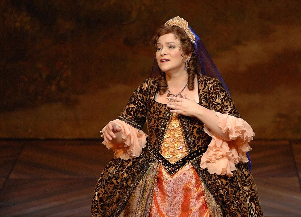 Dominique Labelle (Angelica) in International Handel Festival's Orlando. Photo by Dorothea Heise.