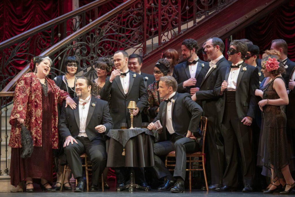 A scene from La traviata