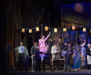 A scene from the Canadian Opera Company's La Bohème