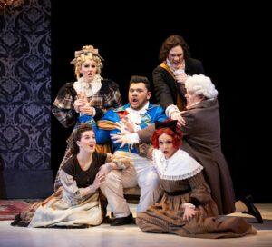 Scene from VO's La Cenerentola.