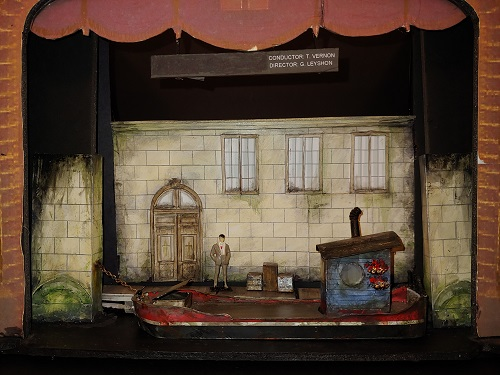 Pam Johnson's set design for POV's Il trittico