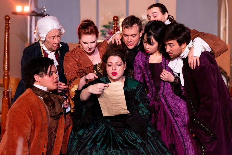 Scene from Gianni Schicchi