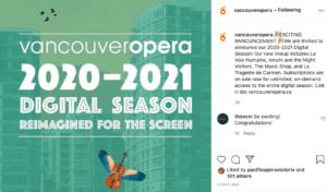 Vancouver Opera screenshot