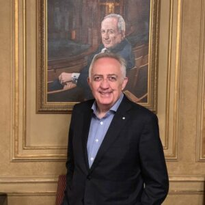 Bramwell Tovey with portrait