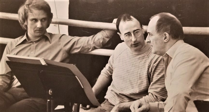 Steuart Bedford and Colin Graham at Banff Centre
